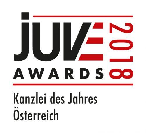Referenz | Haslinger / Nagele, Logo: JUVE Awards