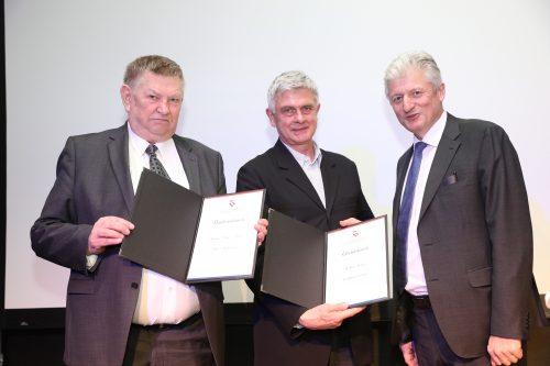 Feier Norbert Nagele, Auszeichnung | Haslinger / Nagele