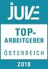 JUVE Logo Top-Arbeitgeber Österreich 2018