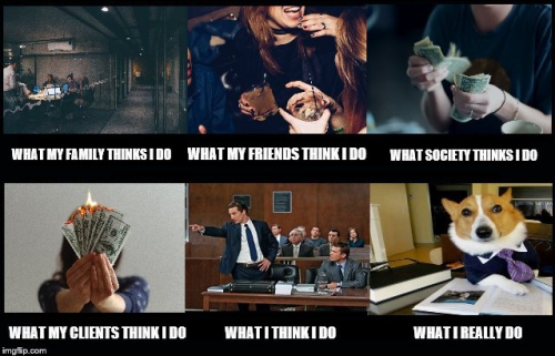 Meme - What my friends think I do vs. What I actually do