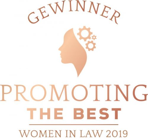 Promoting the best. Women in Law Award