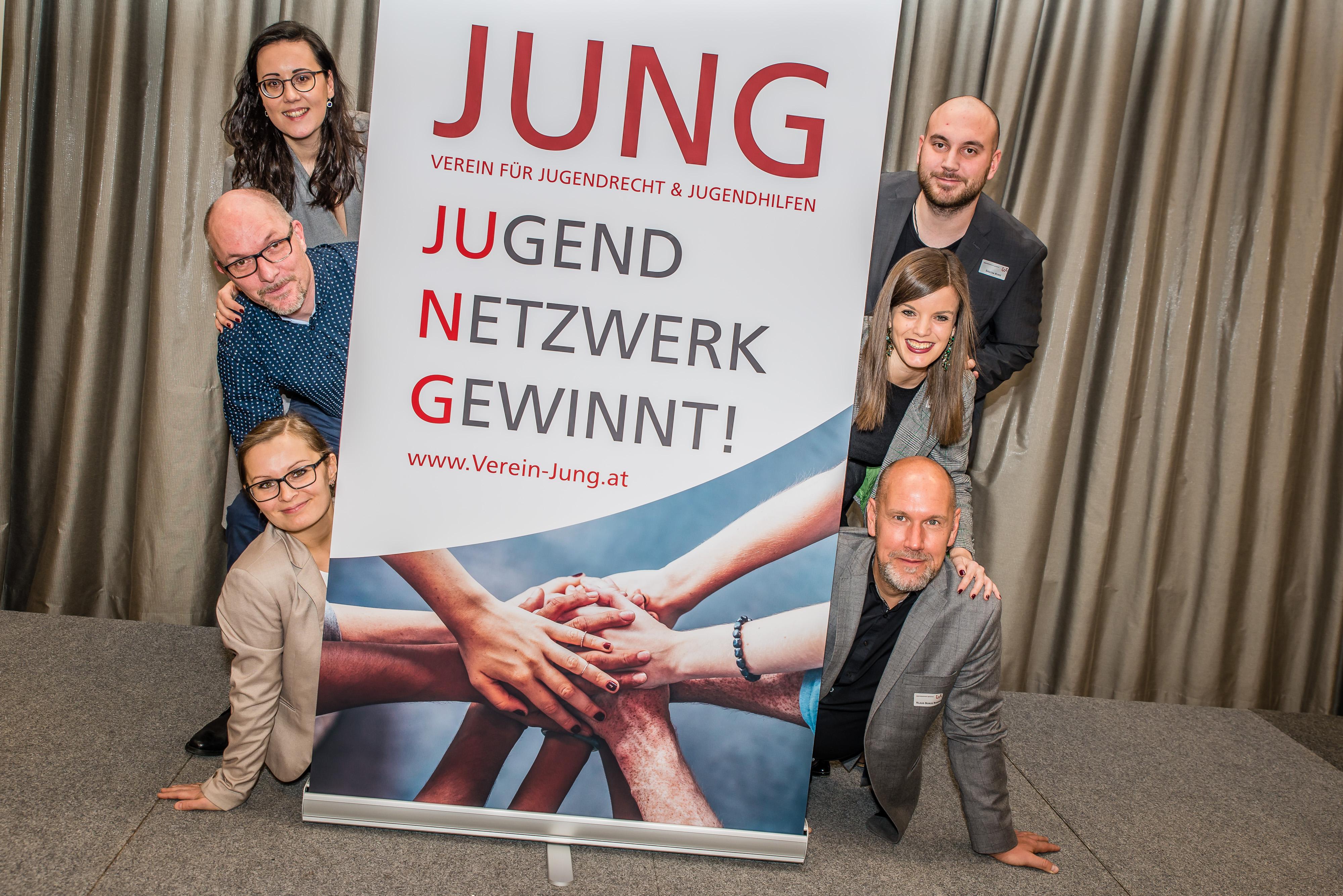 """Gründungsmitglieder des Vereins """"jung"""""""