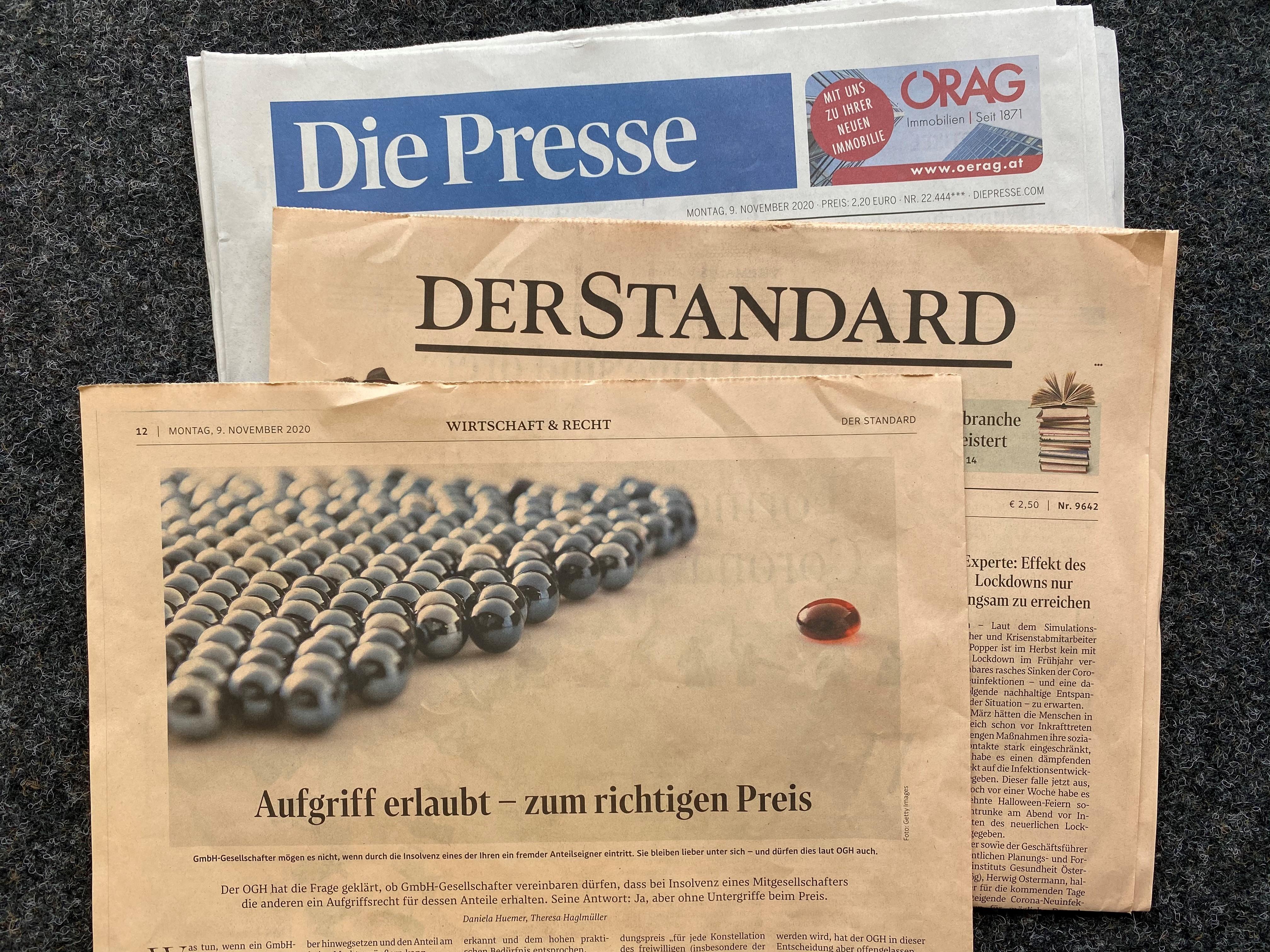 HaslingerNagle_Presse_Standard_AufgriffsrechtEntscheidung_2