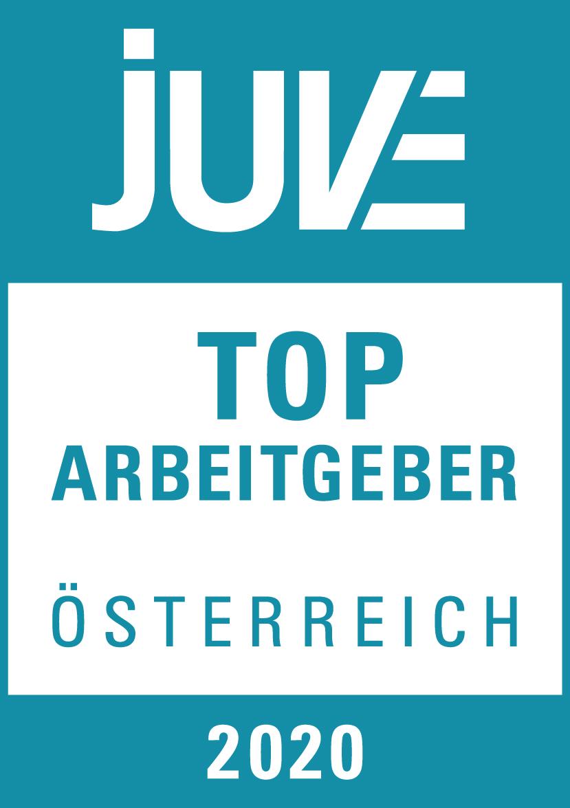 JUVE Top Arbeitgeber 2020