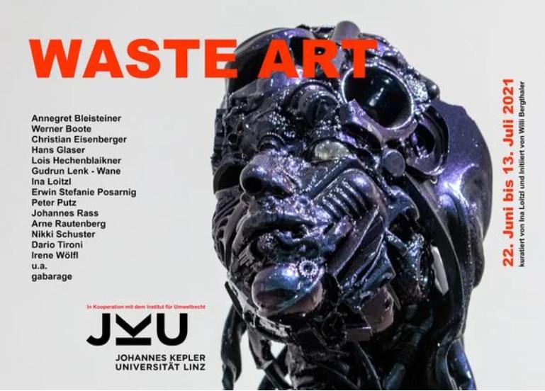 Kunst-Ausstellung Waste Art