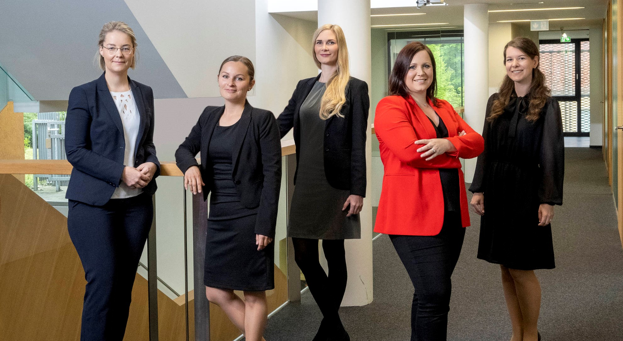 Gruppenfoto Anwältinnen Haslinger / Nagele